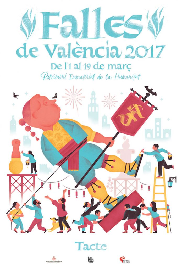 Cartel Fallas 2017 - Tacto