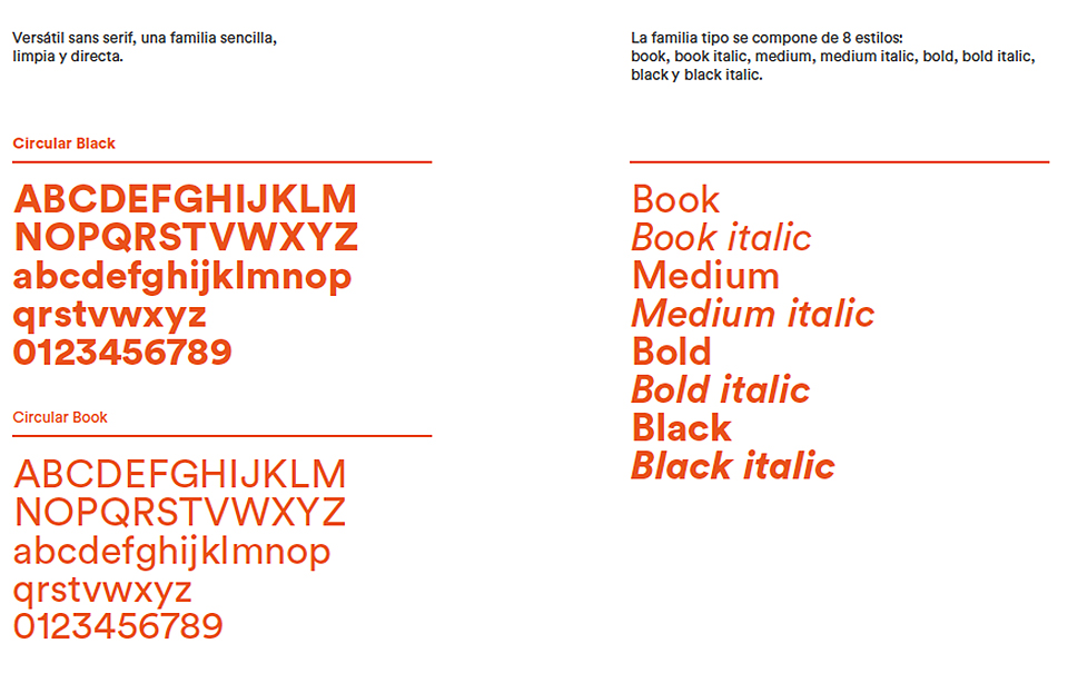 tipografía nuevo logo Ciudadanos