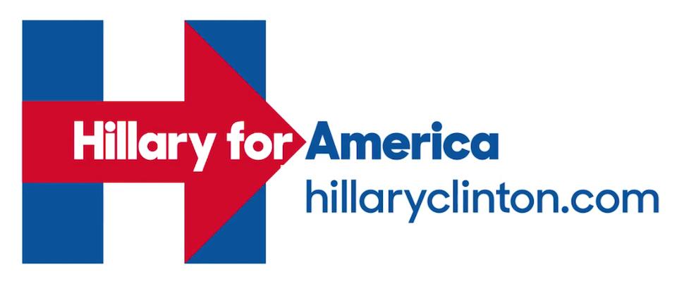 Hilary-for-America-logotipo