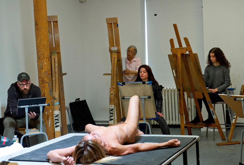 Iggy Pop al desnudo en Nueva York