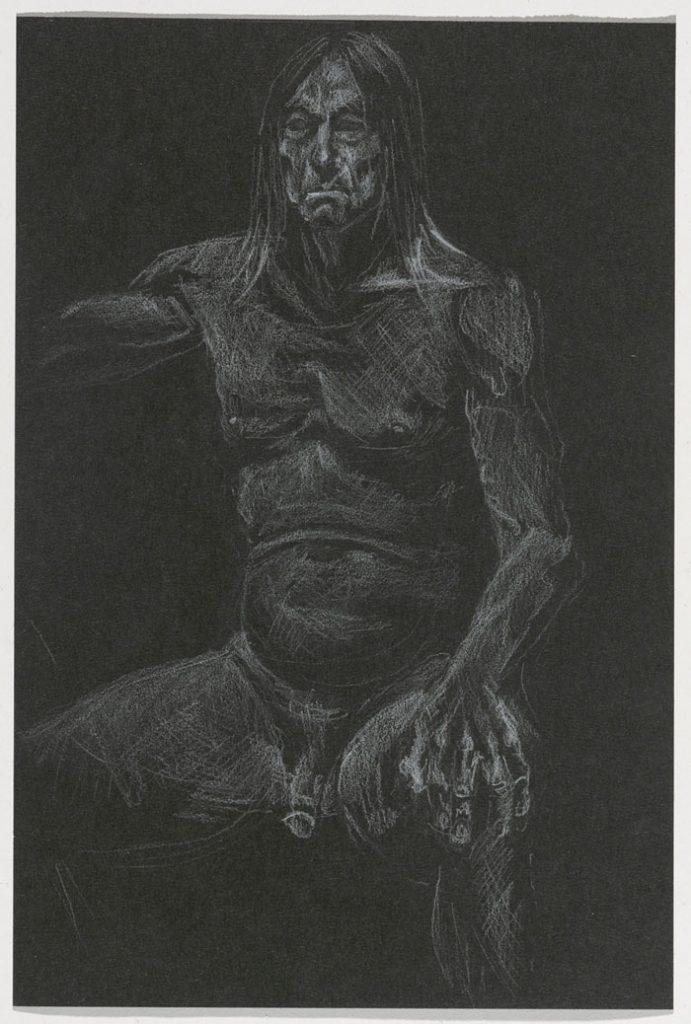 Iggy Pop al desnudo en el Museo de Brooklyn