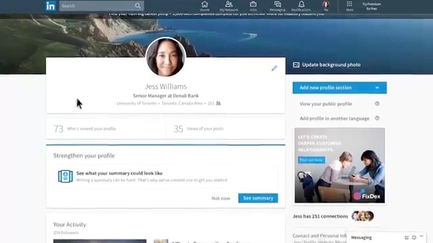 LinkedIn rediseña su interfaz y el resultado se parece mucho a Facebook - 3