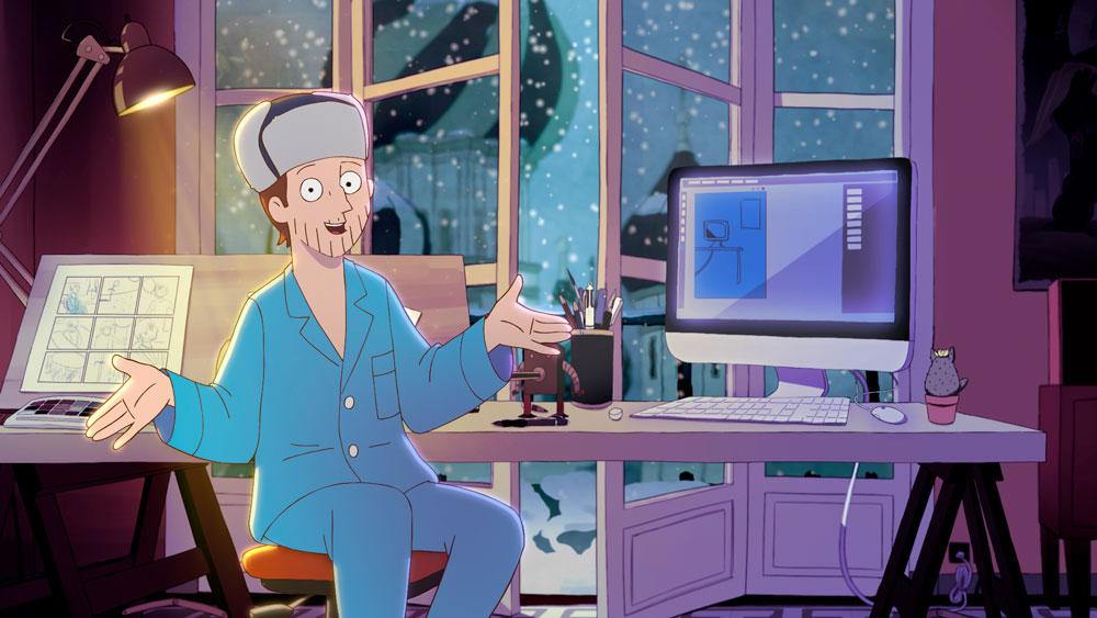 Fotograma de la película Memorias de un hombre en pijama