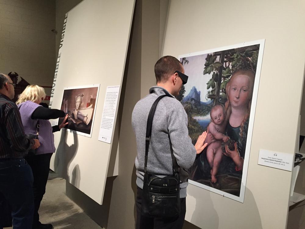 El Museo Pushkin de Moscú expone seis obras adaptadas para invidentes mediante la tecnología Didú