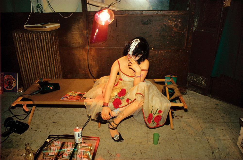 Fotografía de Nan Goldin de La balada de la dependencia sexual