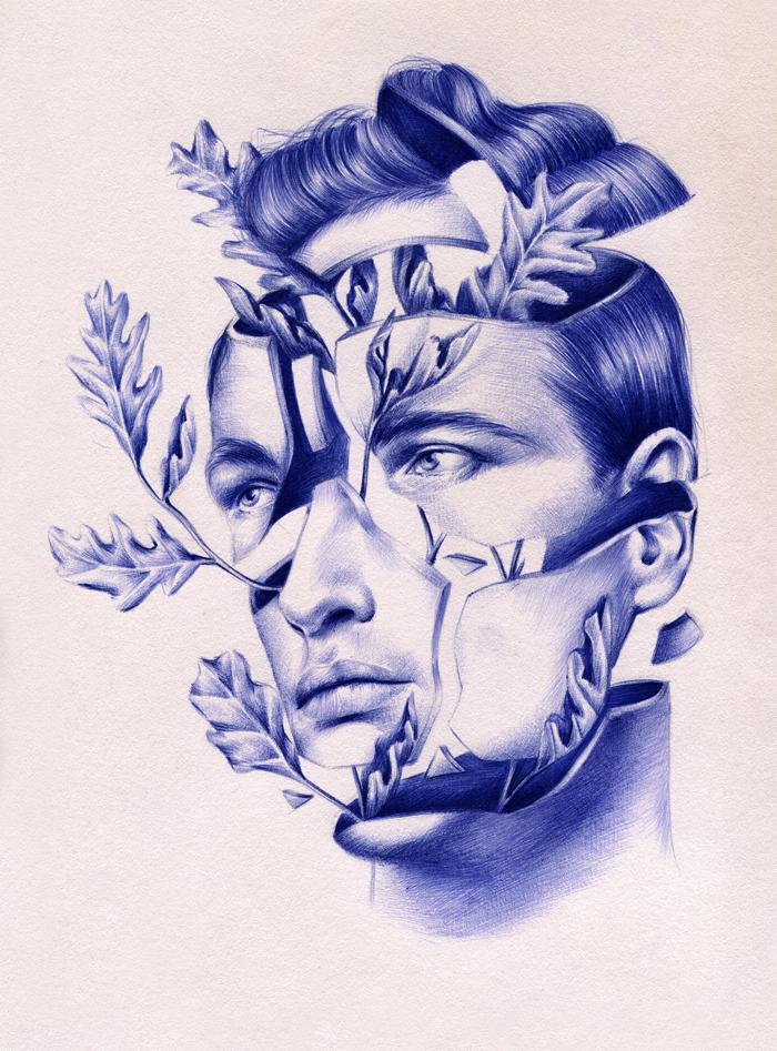 Ilustración de Nuria Riaza para la exposición 'Aquelarre'