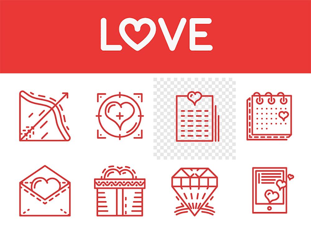 5 recursos gráficos gratuitos para San Valentín