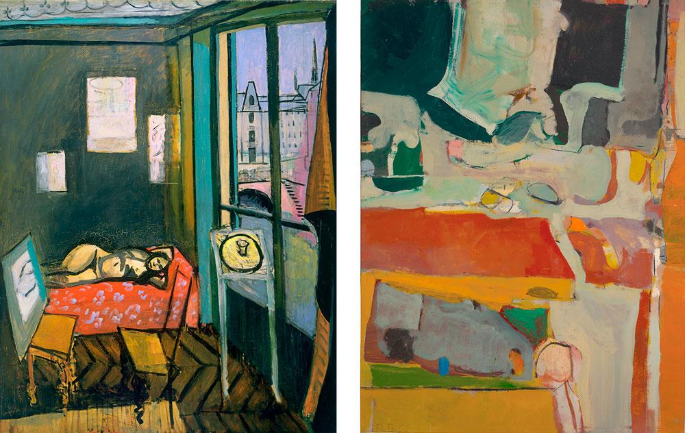 Richard Diebenkorn y Henri Matisse en el SFMOMA