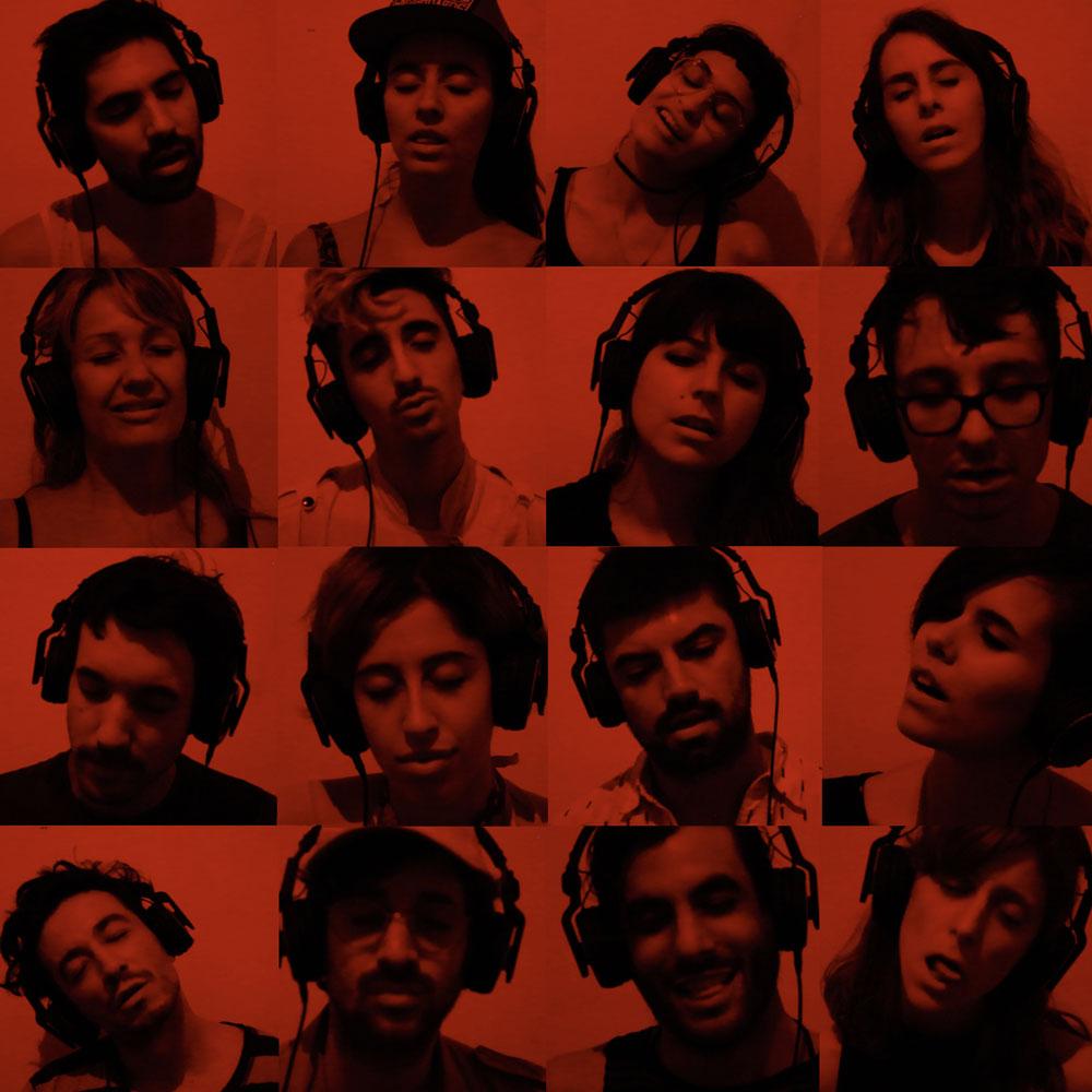 Fragmento de video de la exposición Rock it de Rosana Antolí