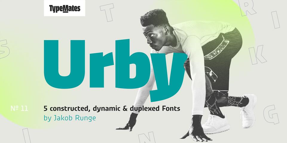 Urby y Urby Soft, tipografías nacidas para el mundo del deporte - 1