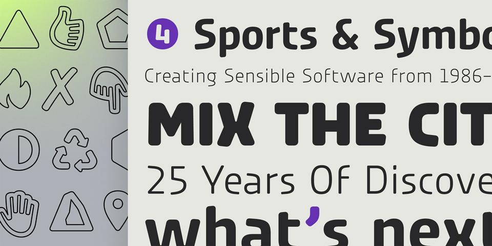 Urby y Urby Soft, tipografías nacidas para el mundo del deporte - 8