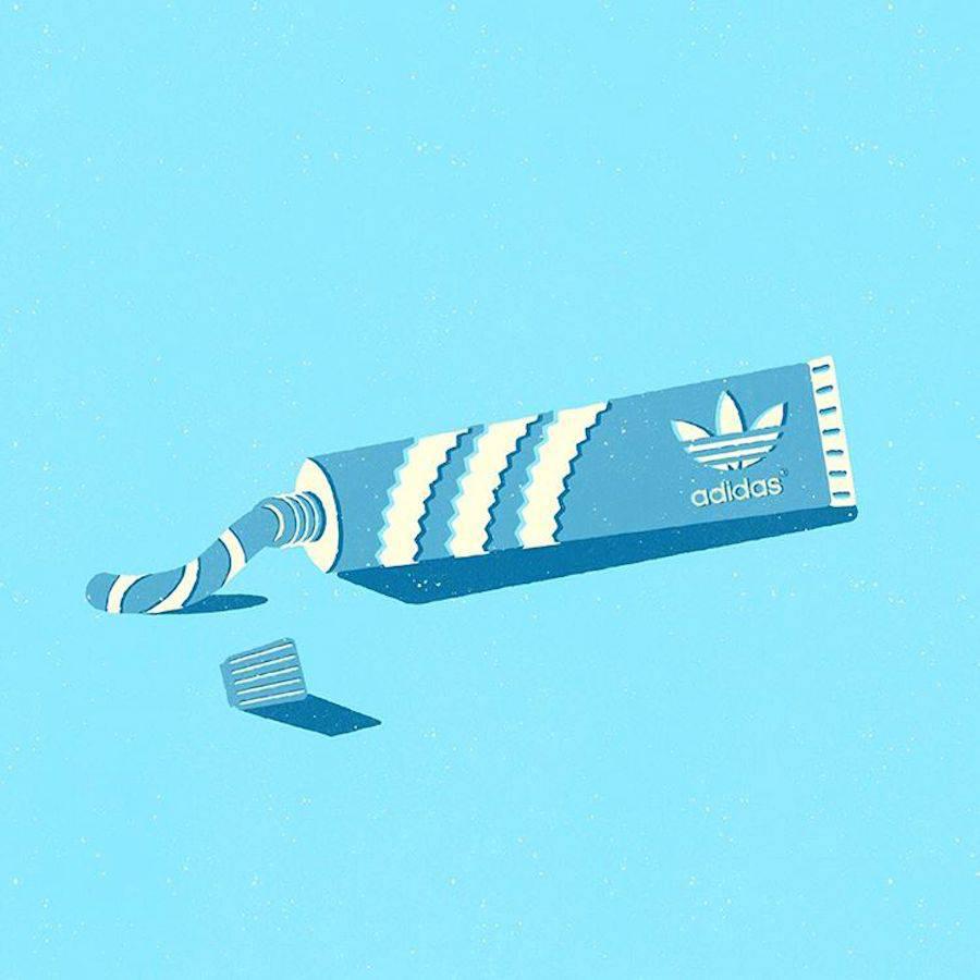 ¿Qué pasaría si los logos se intercambiaran los productos que representan? - Adidas