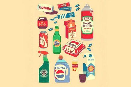 ¿Qué pasaría si los logos se intercambiaran los productos que representan?