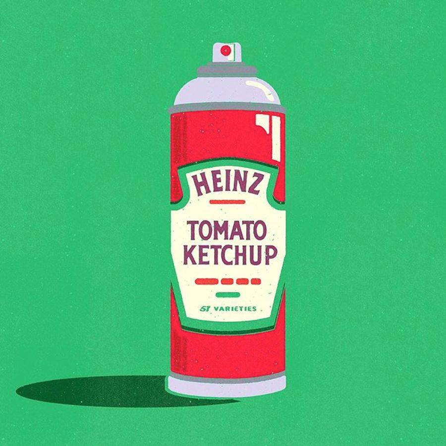 ¿Qué pasaría si los logos se intercambiaran los productos que representan? - Heinz