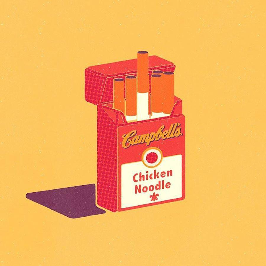¿Qué pasaría si los logos se intercambiaran los productos que representan? -Campell