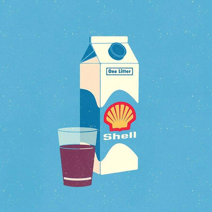 ¿Qué pasaría si los logos se intercambiaran los productos que representan? - Shell
