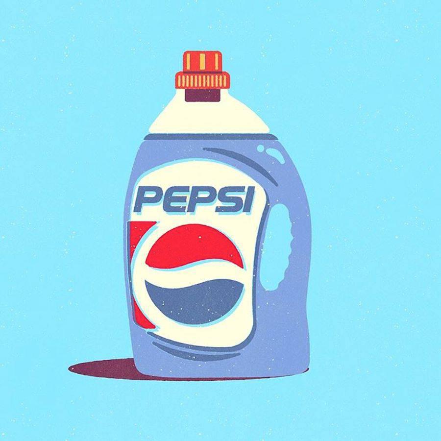 ¿Qué pasaría si los logos se intercambiaran los productos que representan? - Pepsi