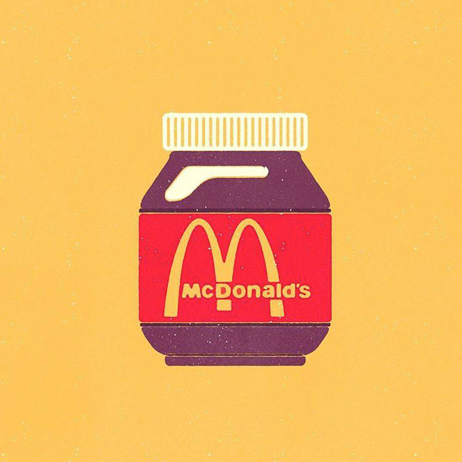 ¿Qué pasaría si los logos se intercambiaran los productos que representan? - McDonald's
