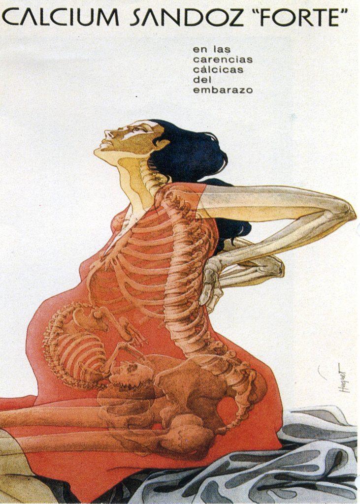 Ilustración farmacéutica de Enric Huguet