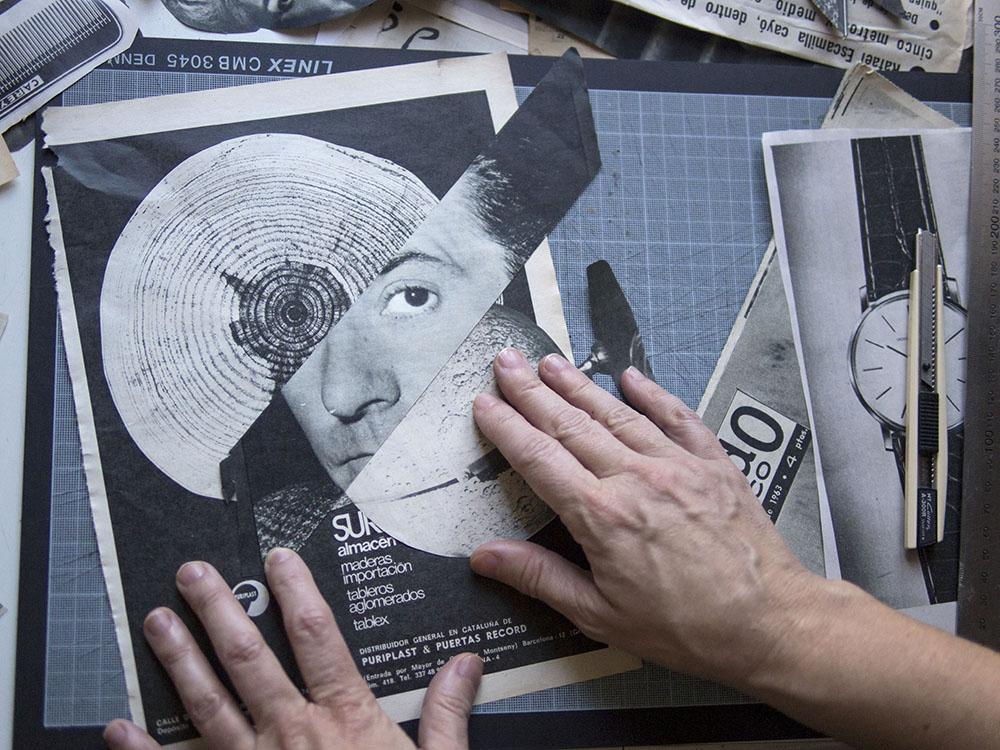 ¿Cómo hacer 4.000 portadas únicas y diferentes? Proceso del collage de Susana Blasco