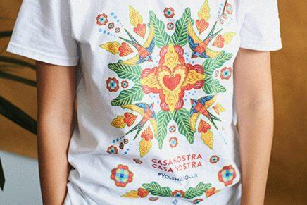 Seis ilustradoras solidarias diseñan camisetas en favor de los refugiados