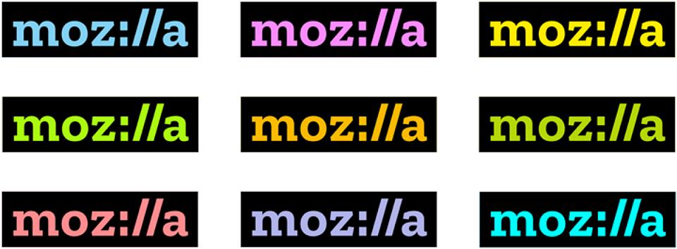 El nuevo logotipo tiene la capacidad de asumir diferentes colores para adaptarse a los entornos.
