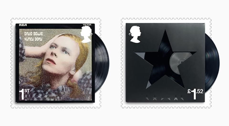 ¿Has visto los sellos homenaje a David Bowie del Royal Mail? - 2