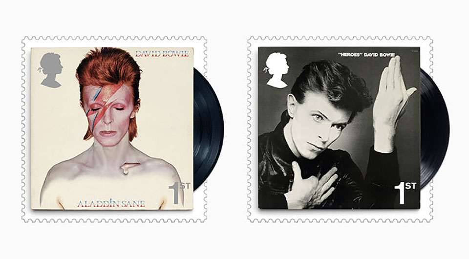 ¿Has visto los sellos homenaje a David Bowie del Royal Mail? - 4