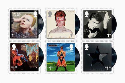 ¿Has visto los sellos homenaje a David Bowie del Royal Mail?