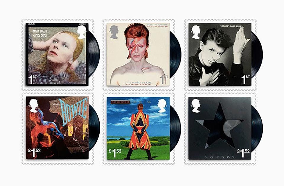 ¿Has visto los sellos homenaje a David Bowie del Royal Mail? - 1