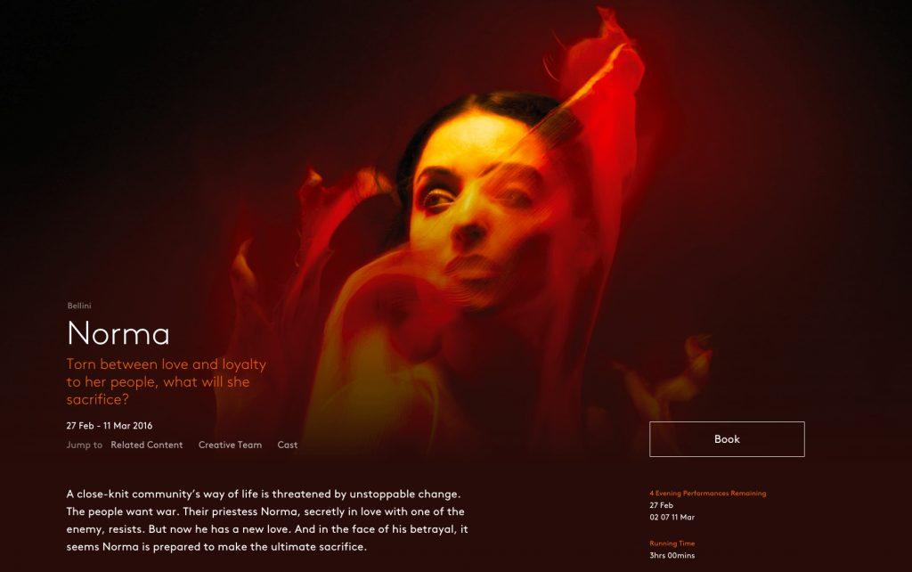 El tímido rediseño de la identidad de la English National Opera - 15