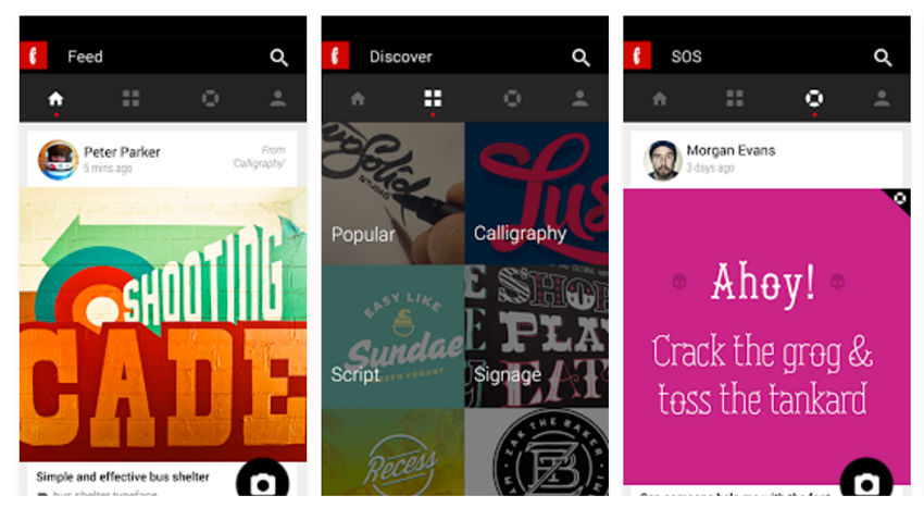 5 apps de Android para creativos - Fontli