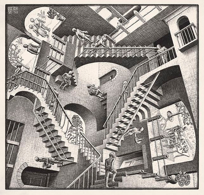 Las paradojas visuales de M.C. Escher regresan a Madrid