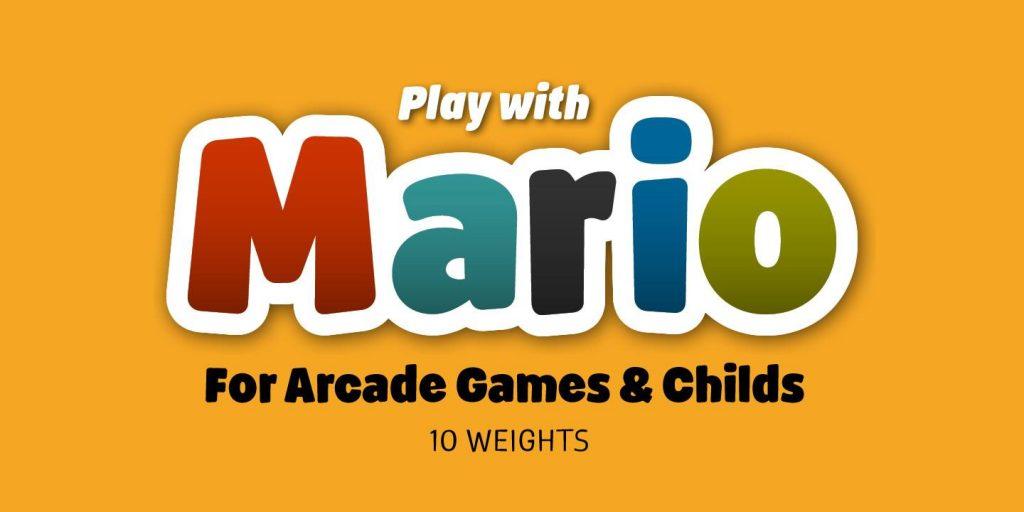 Josep Patau presenta la tipografía Mario, la compañera de juegos gamberra de los más pequeños - 7