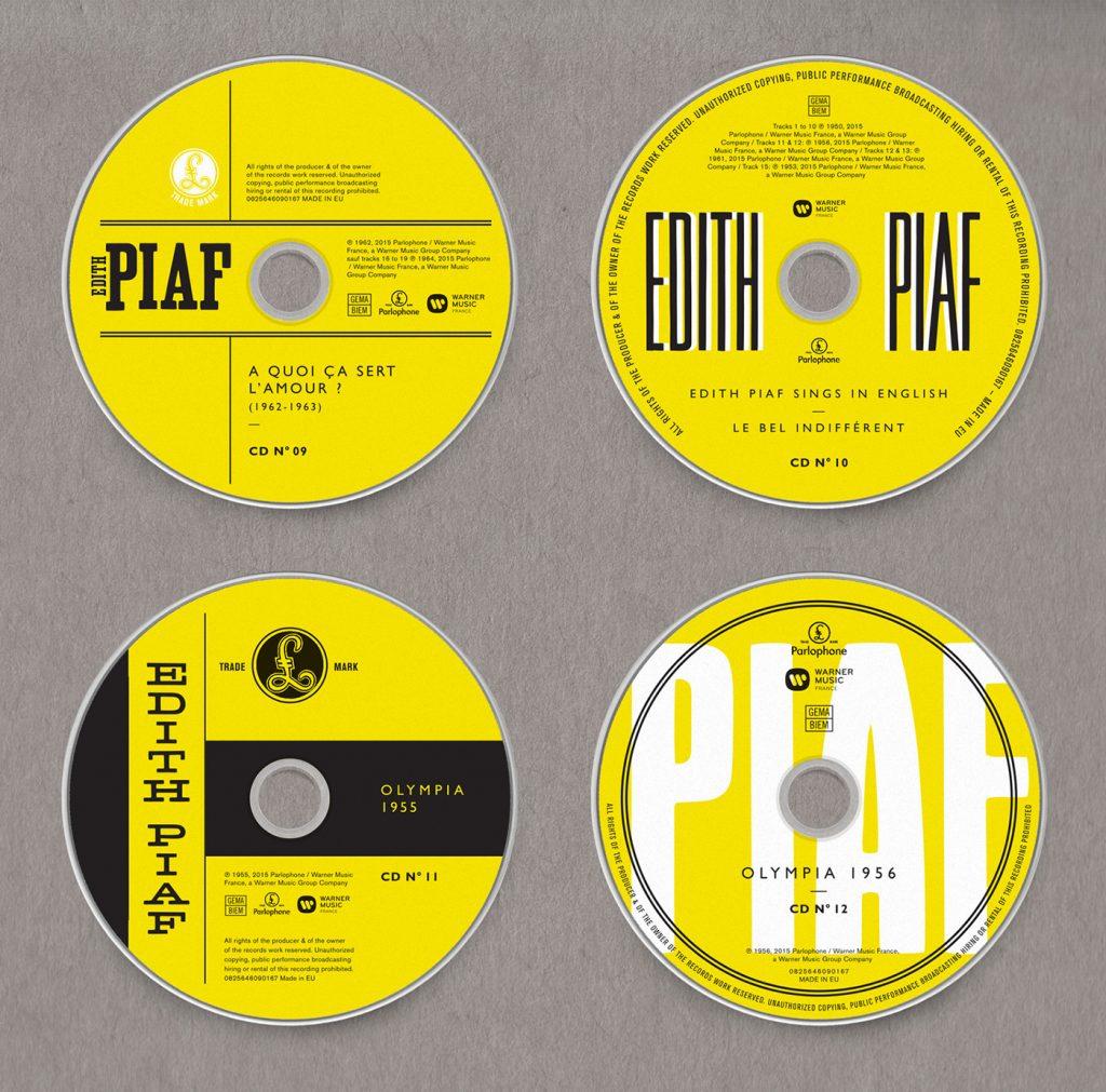 Edith Piaf, Grammy 2017 al Mejor Diseño de Packaging - 1
