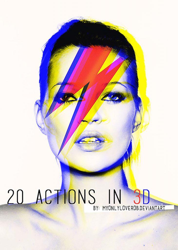20 ACTIONS in 3D por myonlyloverob