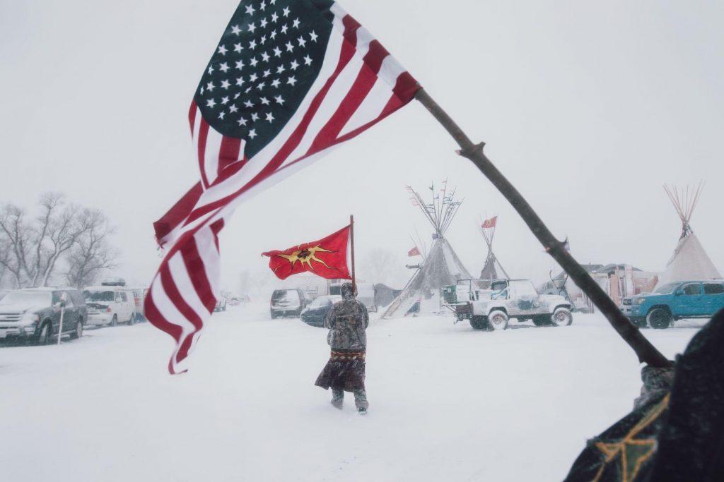 Amber Bracken (Canadá) por Standing Rock