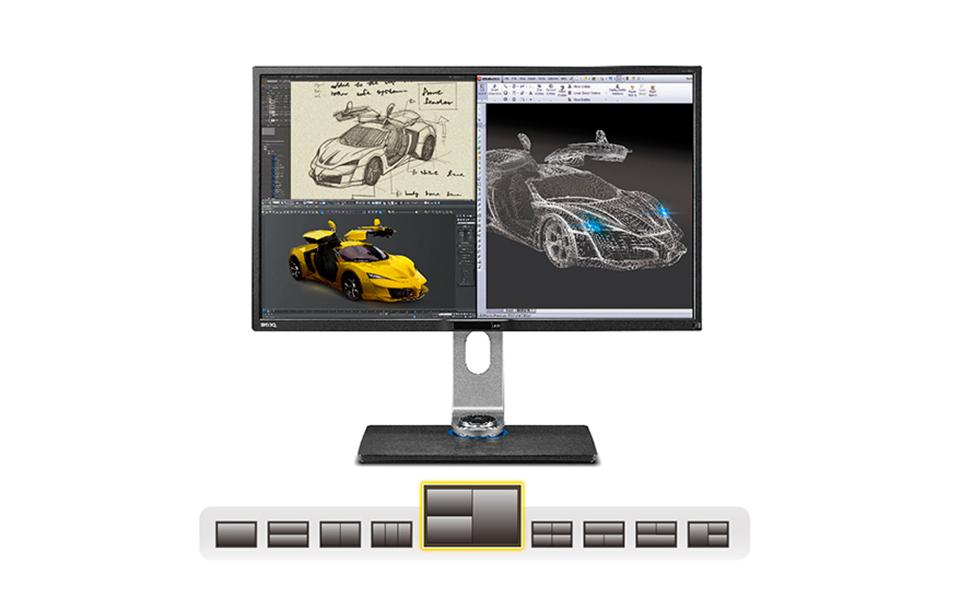BenQ BL3201pt ¿El monitor para los diseñadores? - Pantalla multifuncional
