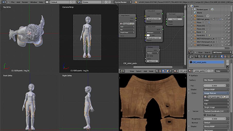 Blender, el programa de 3D gratis y de código abierto - 6