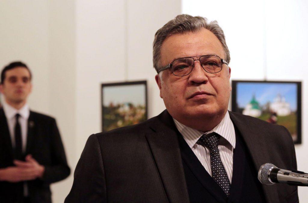 Burhan Ozbilici - An Assassination in Turkey