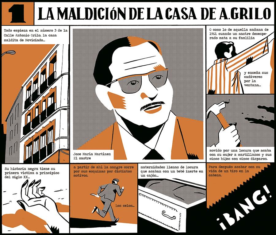 Carla Berrocal presenta cuatro leyendas oscuras de Madrid