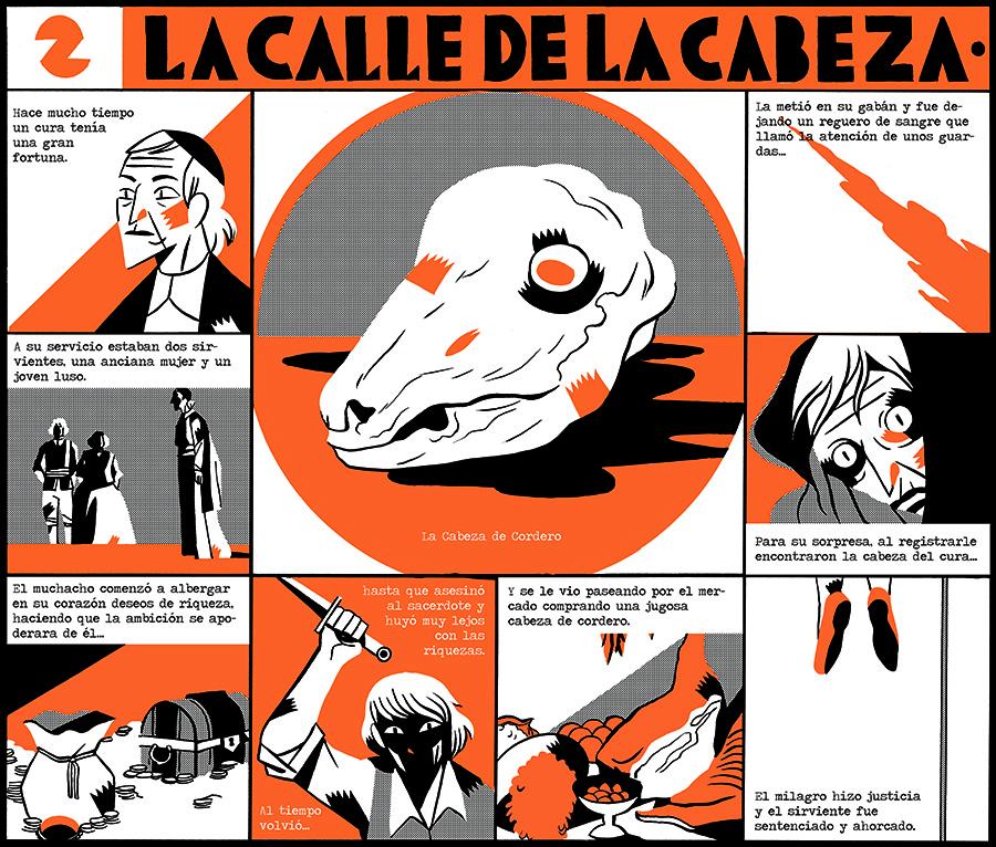 Leyendas oscuras convertidas en cómic por Carla Berrocal