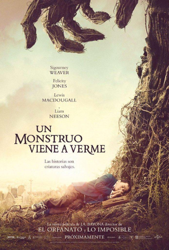Carteles Goya 2017 - Un monstruo viene a verme1