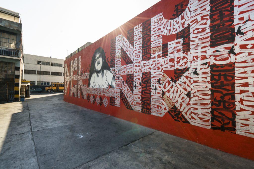 'Del Barrio', un mural realizado por Said Dokins y Lapiztola - 1