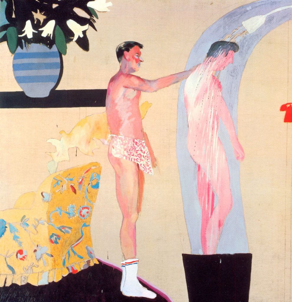 Domestic Scene in Los Angeles, de David Hockney
