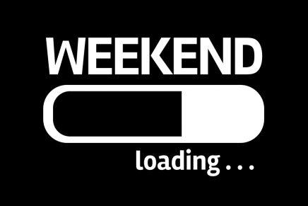 ¿Preparado para un fin de semana cargado de planes?