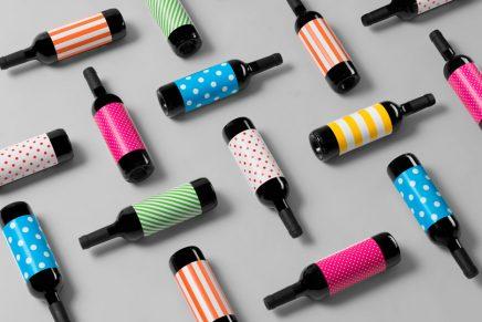 Atipus vuelve con un diseño de etiqueta gamberro y propio de las verbenas para Vi Novell
