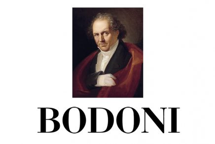 ¡Feliz cumpleaños Bodoni!