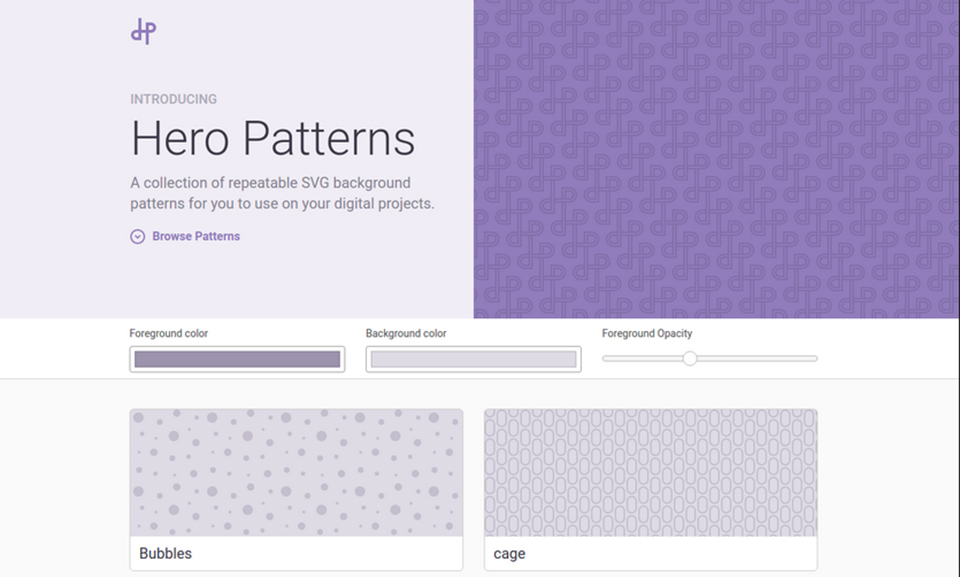 Hero Patterns - Web1