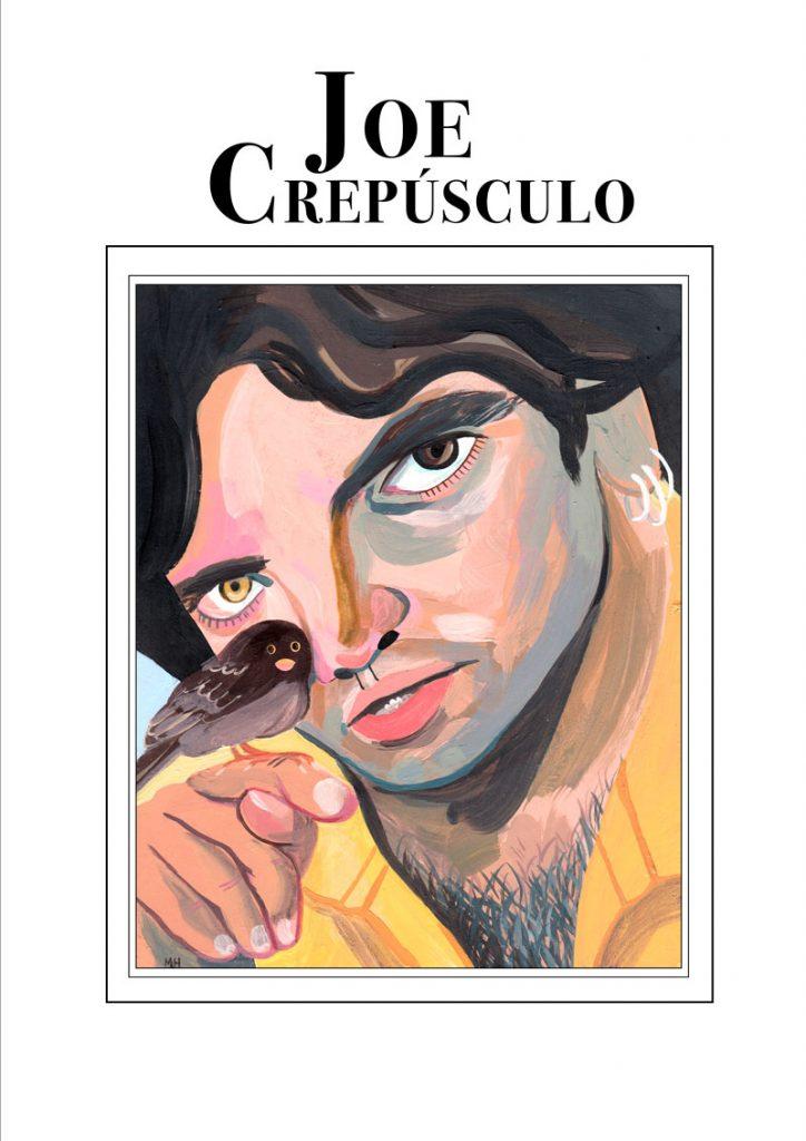 Joe Crepúsculo imaginado por María Herreros para la exposición de Hits With Tits